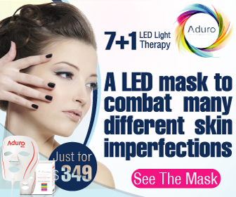 Aduro LED Facial Mask